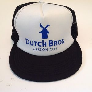 Dutch Brothers Snap-Back Trucker Hat Carson City